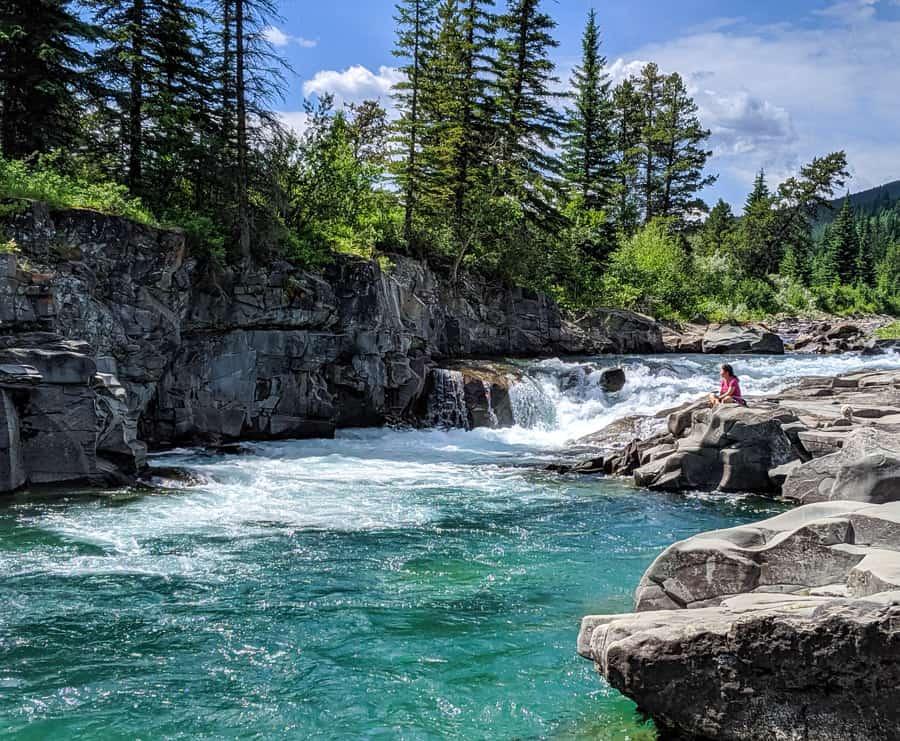 Castle Falls - Castle Provincial Park