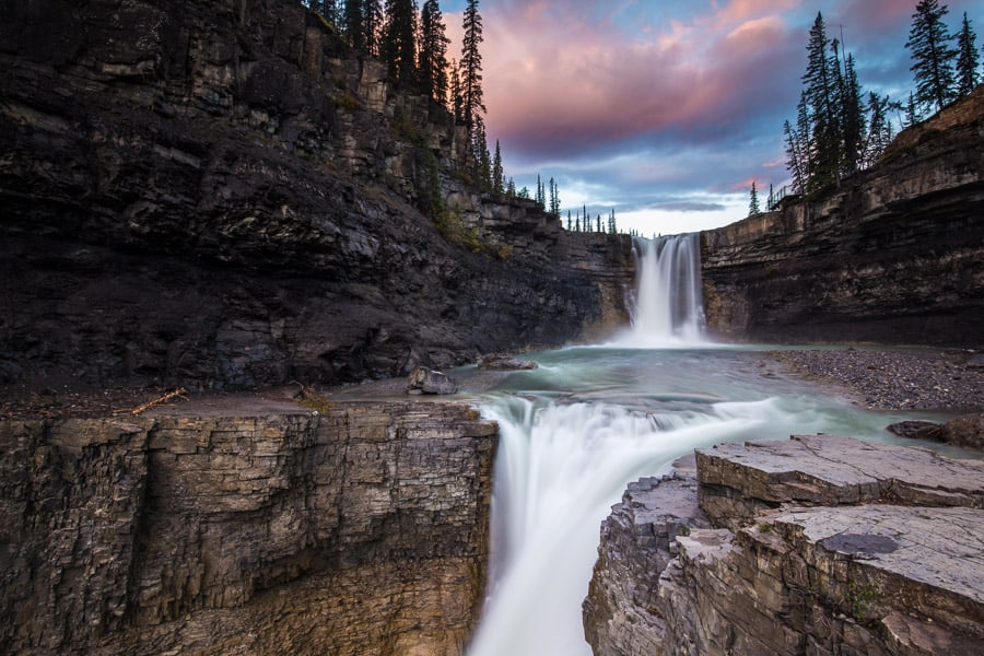 Crescent Falls, David Thompson Country