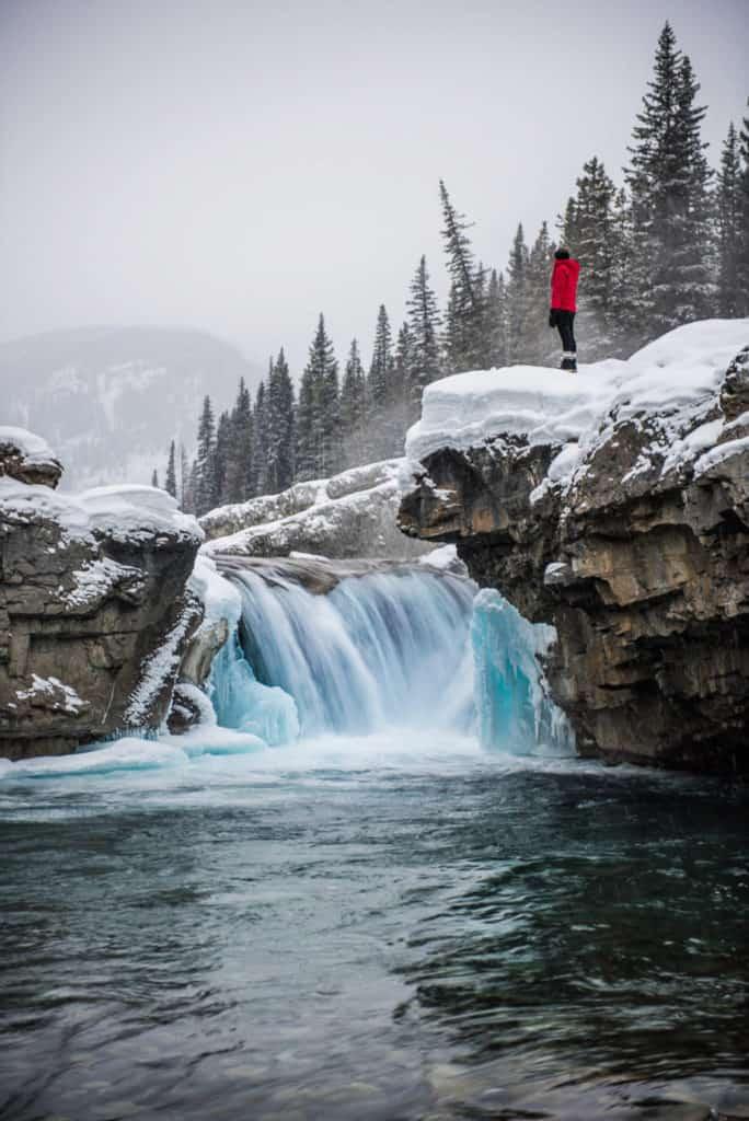 Elbow Falls near Bragg Creek