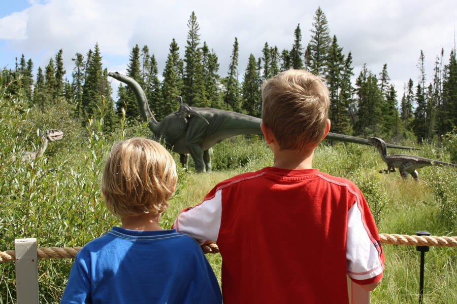 Jurassic Forest in Gibbons, AB