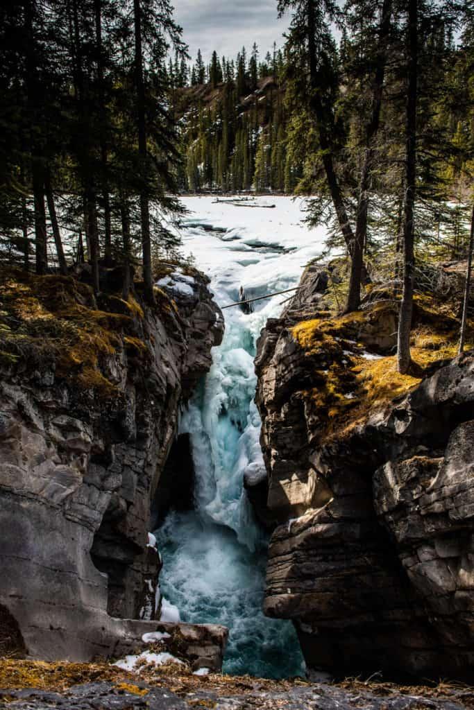 Siffleur Falls in David Thompson Country