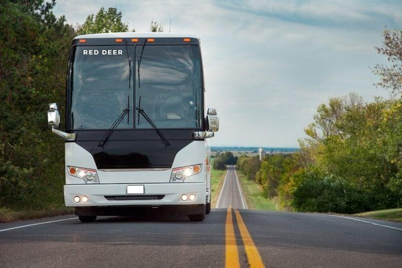 Bus to Red Deer