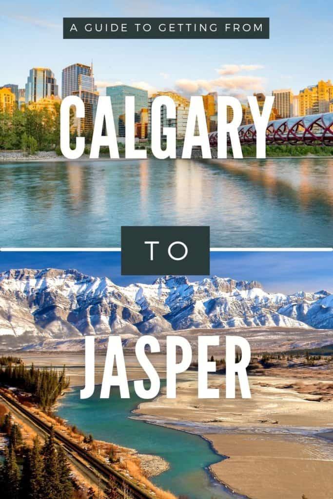Calgary to Jasper Pin 2