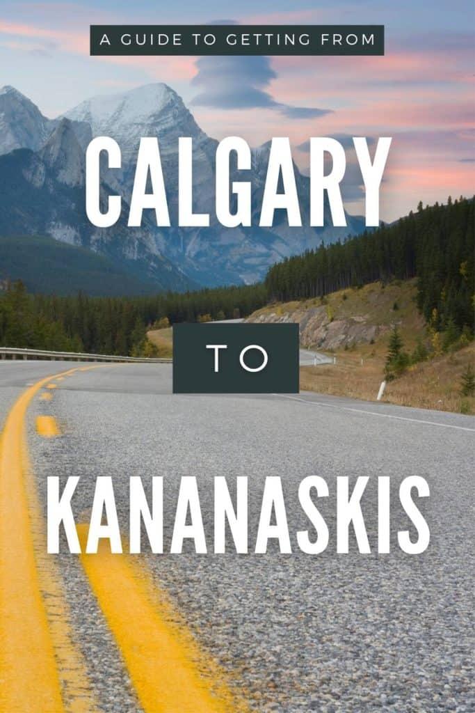 Calgary to Kananaskis Pin 3