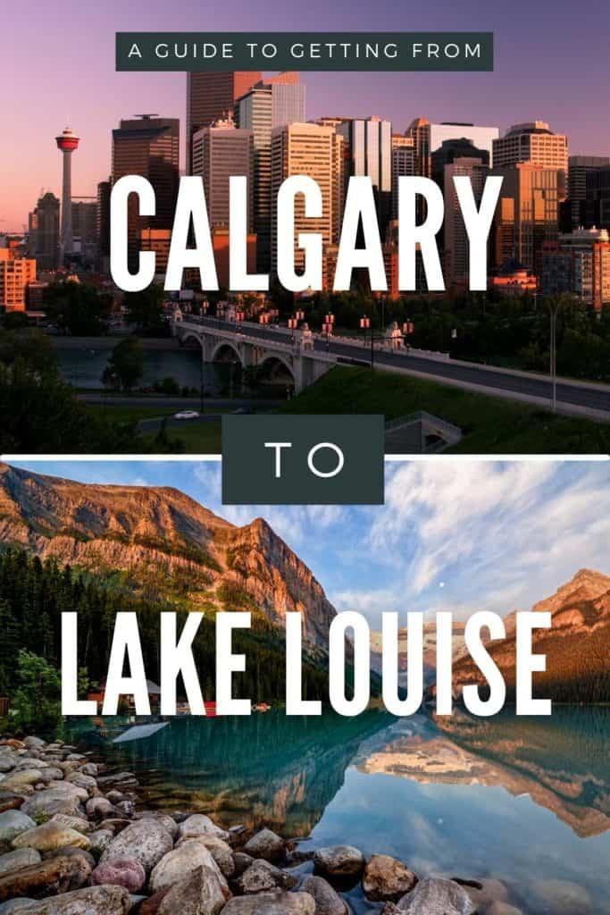 Calgary to Lake Louise - PIN 3