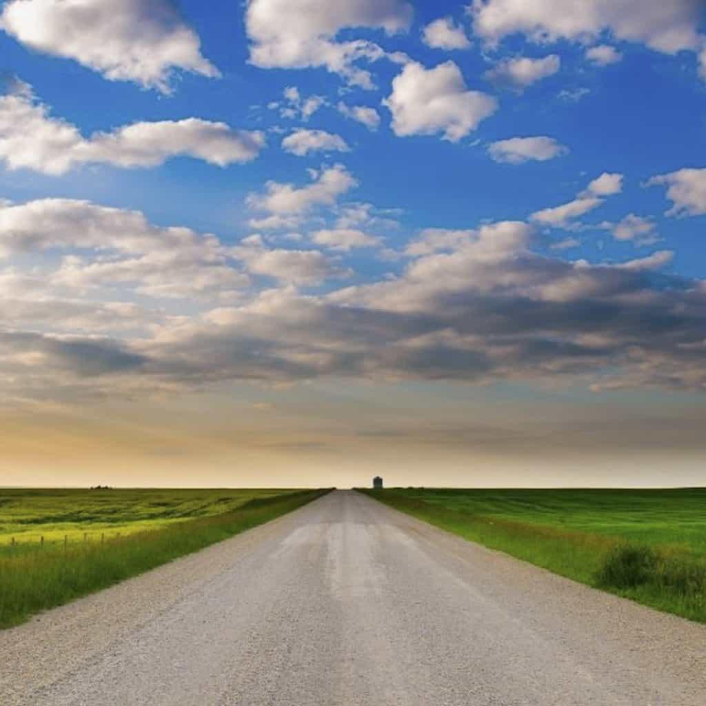 Backroads to Red Deer