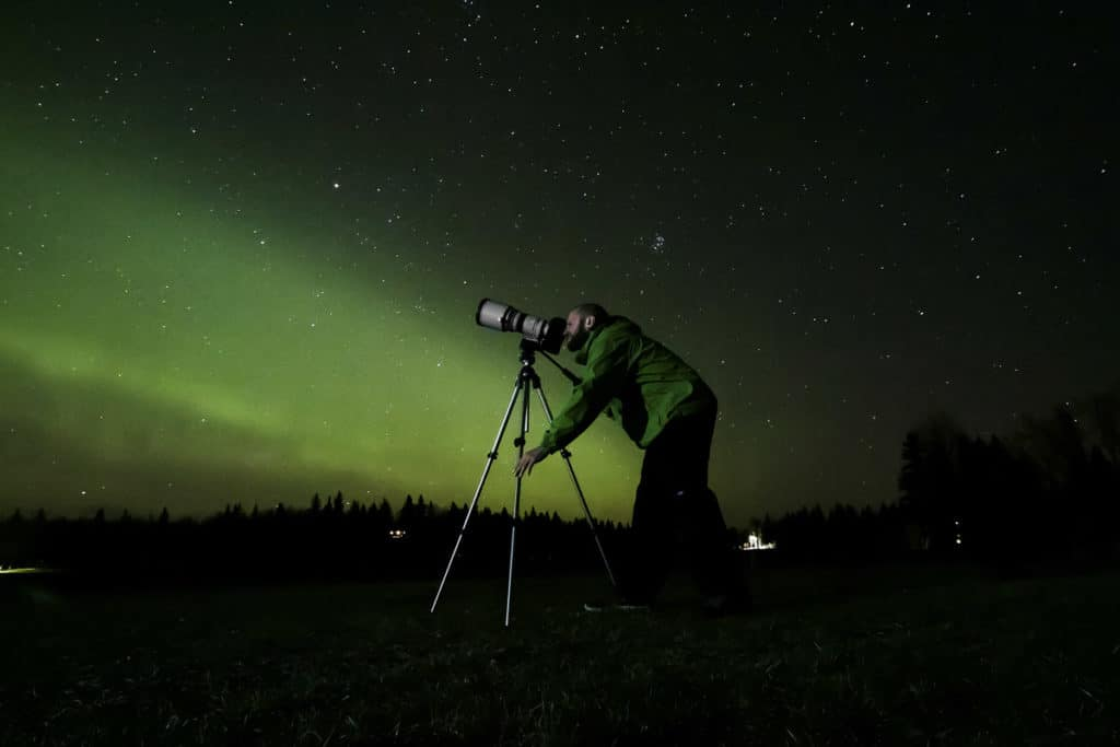 Capturing Northern Lights in Alberta