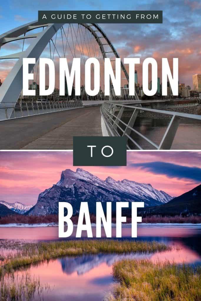 Edmonton to Banff Pin