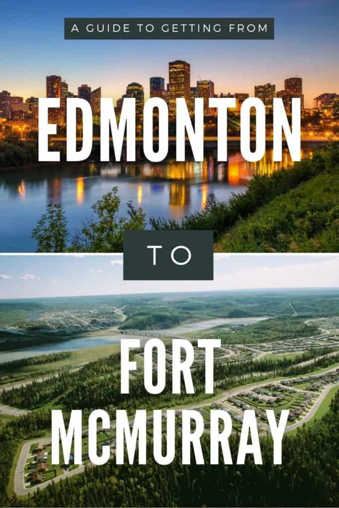 Edmonton to Fort McMurray Pin