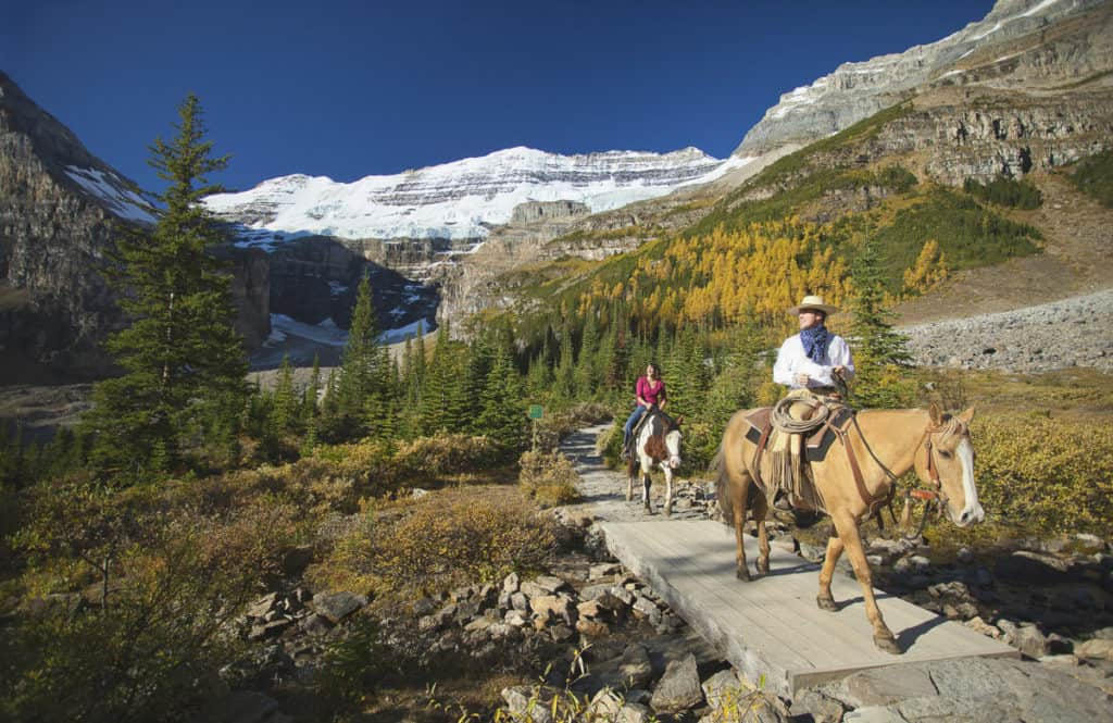Horseback Riding at Lake Louise