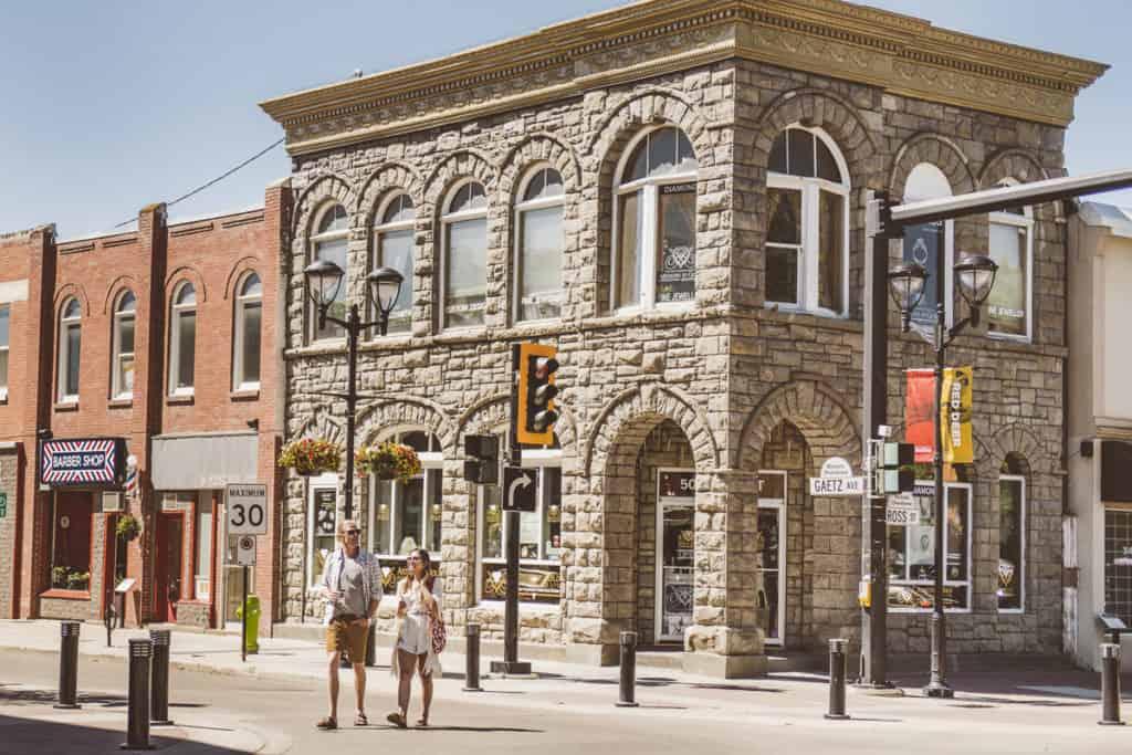 Red Deer 50th Street Corner