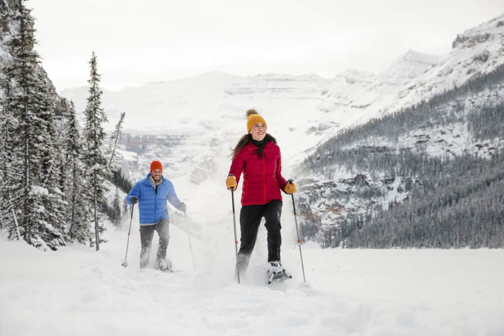 Snowshoeing in Banff National Park