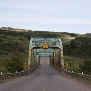 Wayne Alberta bridge
