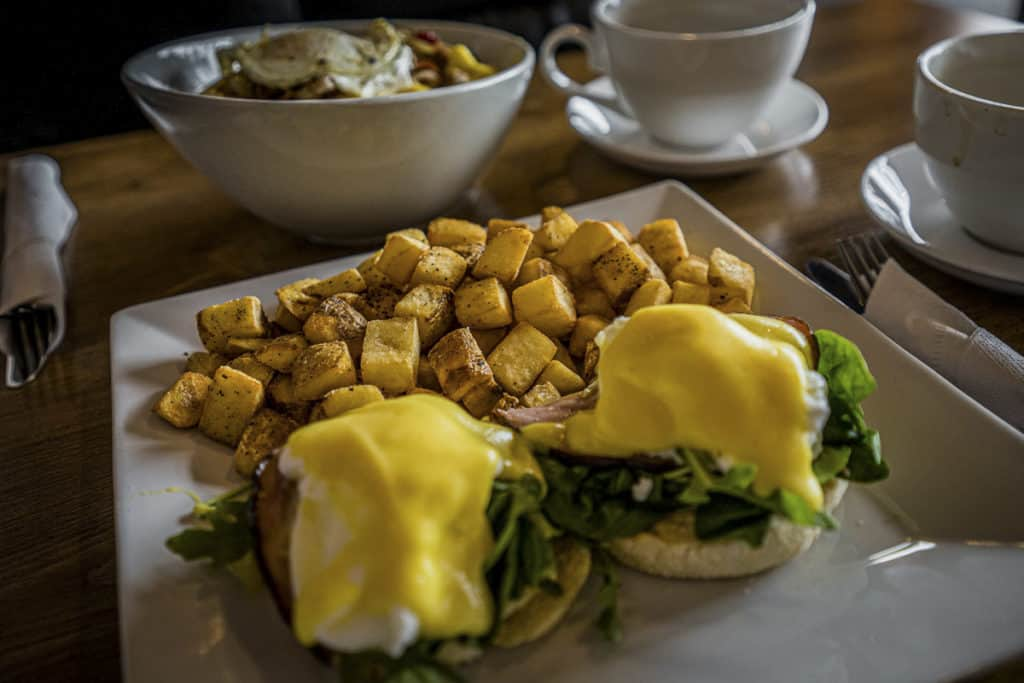 Breakfast at Tollers Bistro
